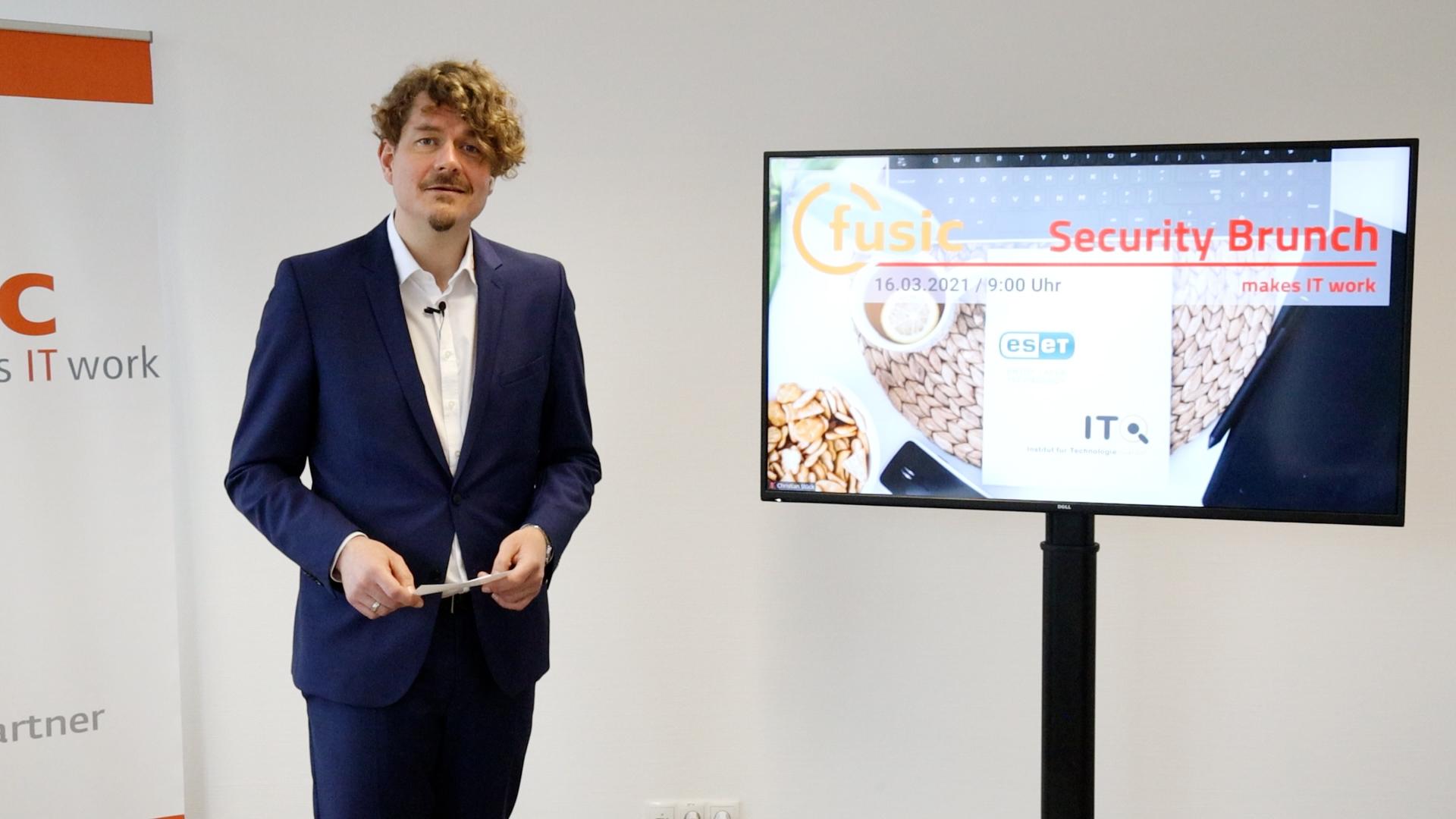 Security Brunch | Christian Stück | Geschäftsführer fusic IT-Systemhaus Würzburg