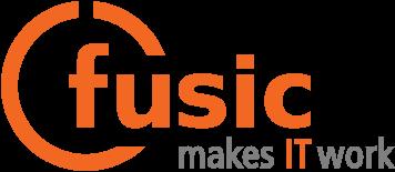 fusic - makes IT work | IT Systemhaus - altes Logo